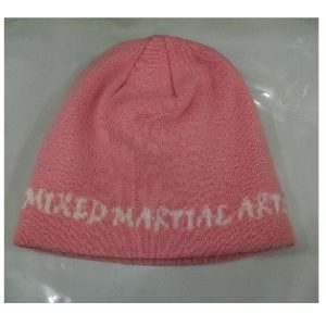 Mixed Martial Arts Knit Beanie -Pink