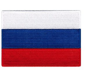 Russia Flag Patch