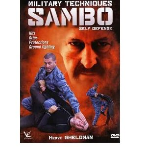 Sambo Techniques for Military DVD