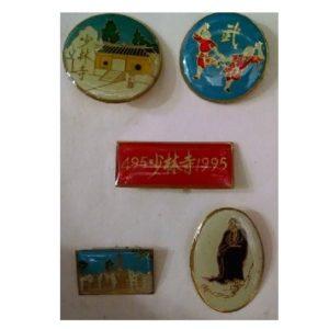Shaolin Anniversary Pin Set