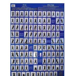 Wing Tsun Biu Tze Poster
