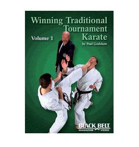 Winning Traditional Tournament Karate vol 1 DVD