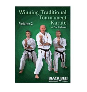 Winning Traditional Tournament Karate vol 2 DVD