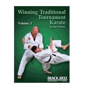 Winning Traditional Tournament Karate vol 3 DVD