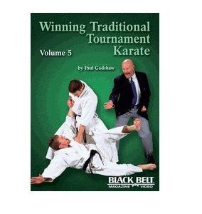 Winning Traditional Tournament Karate vol 5 DVD