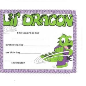 lil Dragon award