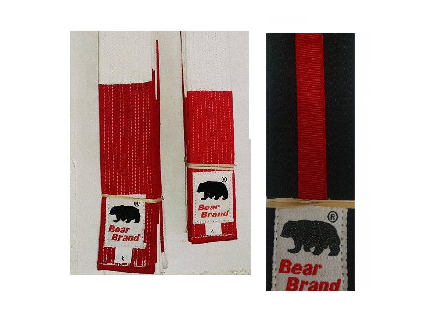 Bear Master Instructor & Shihan Belts