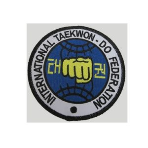 INTERNATIONAL TAEKWONDO FEDERATION PATCH