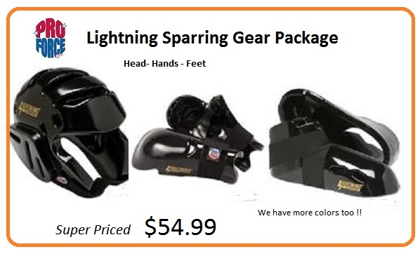 Lightning Sparring Package