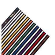 Single Wrap Belts w/Colored Stripe