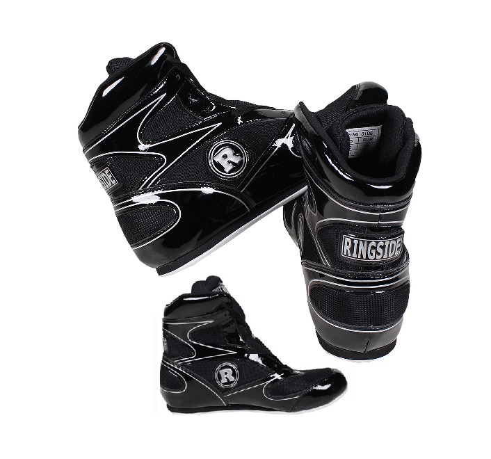 Red Ringside Diablo Low Top Boxing Shoes