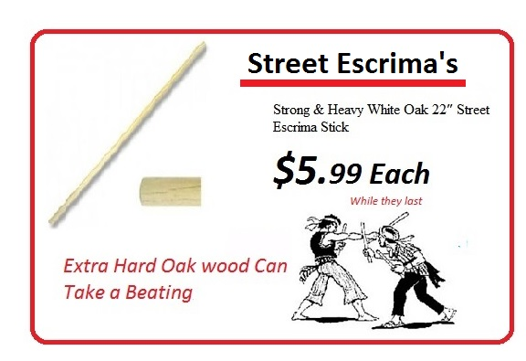 Street Escrima Sticks