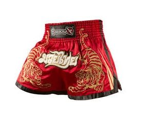 Muay Thai Fight Shorts – Red