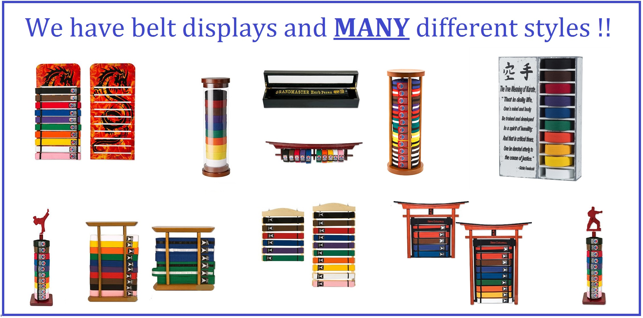 Belt Displays