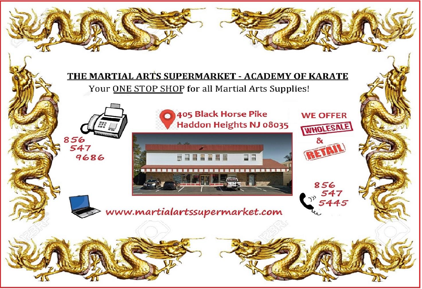 35caf7e580c Academy Of Karate - Martial Arts Supply Inc. - The Martial Arts ...